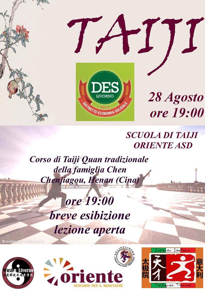 Esibizioni e lezioni aperte al DES – 27/28 Agosto – Rotonda Ardenza