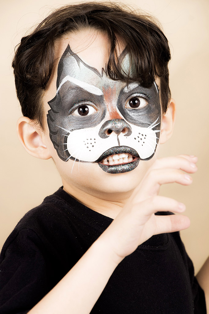 Maquiagem artística infantil