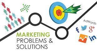 Marketing to solve a problem.