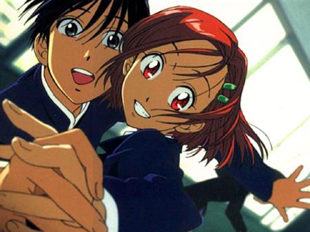 Yukino and Arima from Kare Kano