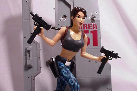 Lara Croft in Area 51