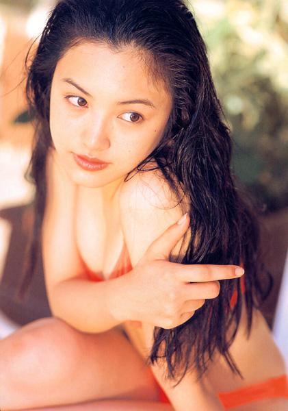 Yukie Nakama in her Pastel Photo Book (1997)