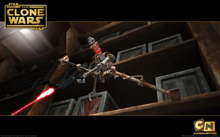 Star Wars - The Clone Wars - Assassin Droids