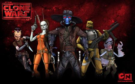 Star Wars - The Clone Wars - Bounty Hunters