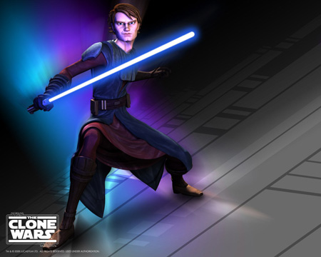 Star Wars - The Clone Wars - Anakin Skywalker title=