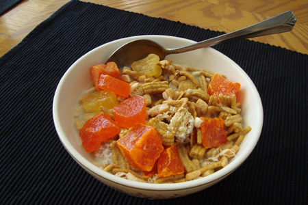 Dried Fruit & Fiber Cereal