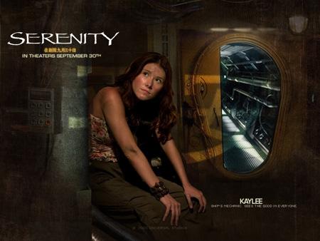 Jewel Staite as Kaywinnit Lee Frye | Serenity (2005)
