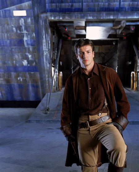 Nathan Fillion as Malcolm Reynolds | Firefly (2002)