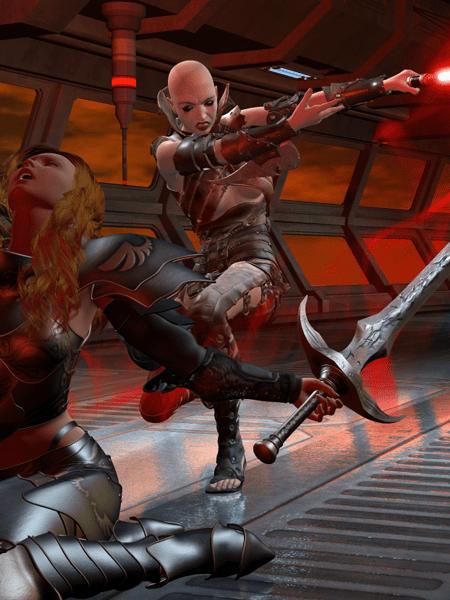 SWTOR: Zhaanin's Revenge | Poser 3D Render