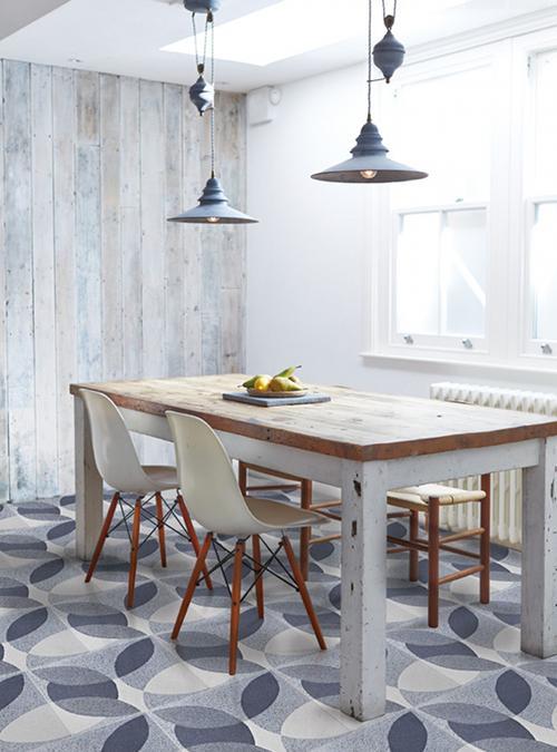 Con piedi in legno massello di faggio. Tavolo Da Cucina Stile Vintage Shabby Chic David Xlab