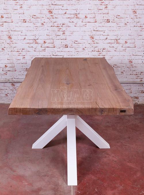 Bakaji tavolo sala da pranzo cucina forma rettangolare design moderno in legno mdf finitura in melammina dimensione 120 x 80 x 74 cm arredamento casa (acero). Tavolo Di Design Moderno Con Gamba Centrale Antares Xlab Design