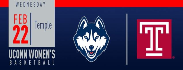 Image result for UConn Women's Basketball vs. Temple feb 22