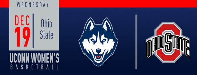 Image result for UConn Women's Basketball vs. Ohio State december 19