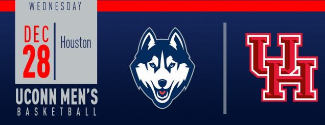 Image result for UConn Men's Basketball vs. Houston december 28