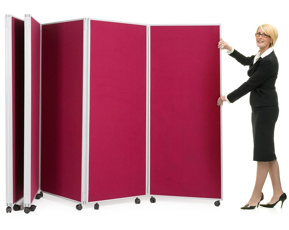 Concertina Screen Folding Room Divider Large Display Board