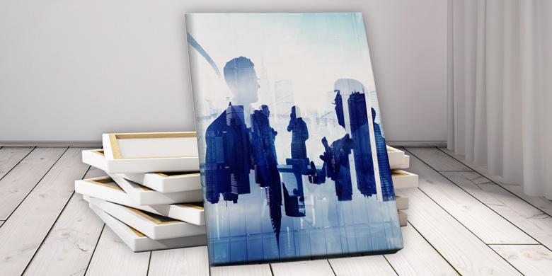 Fineart Printing, Leinendruck, spezielle Materialien