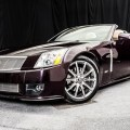 2009 Cadillac XLR in Black Cherry