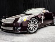 2009 Cadillac XLR  in Black Cherry