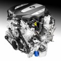 The all-new 3.0L Twin Turbo for the 2016 Cadillac CT6 is the only six-cylinder engine to combine turbocharging with cylinder deactivation and stop/start technologies to conserve fuel.