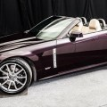2009 Cadillac XLR-V in Black Cherry Metallic