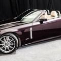 2009 Cadillac XLR-V in Black Cherry Metallic