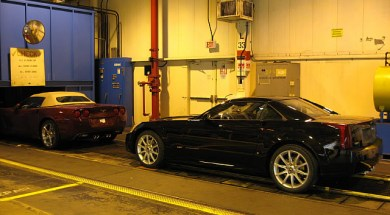 Cadillac XLR-V on the assembly line at the Bowling Green Corvette Assembly Plant.