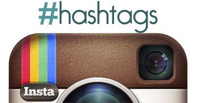 Hashtag på Instagram