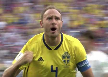 Andreas Granqvist mål Sør Korea VM