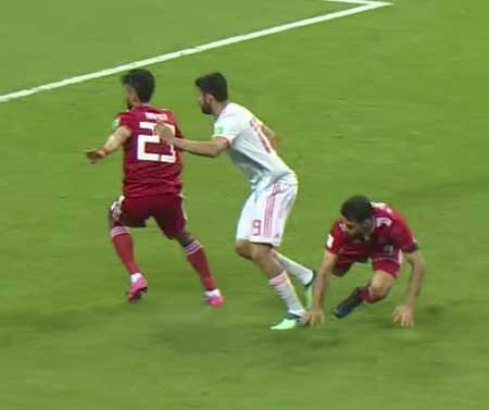 Diego Costa Spania mål Iran