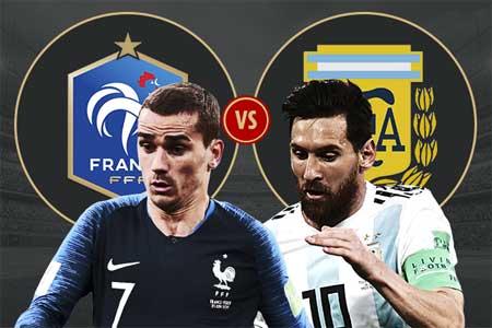 Griezmann Messi VM 2018