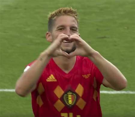 Mertens Belgia mål Panama