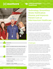 Intermountain Healthcare uses technology to streamlines stroke notifications.