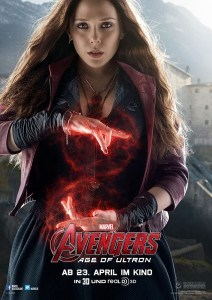 Elizabeth Olsen (Captain America: The Winter Soldier, Avengers Age of Ultron, Captain America: Civil War, Avengers Infinity War, Avengers Endgame, WandaVision, Doctor Strange in the Multiverse of Madness)