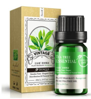 (Предзаказ) Эфирное масло «BIOAQUA» с маслом чайного дерева и гиалуроновой кислотой.(П-8868)