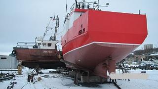 Рыболовные суда без работы