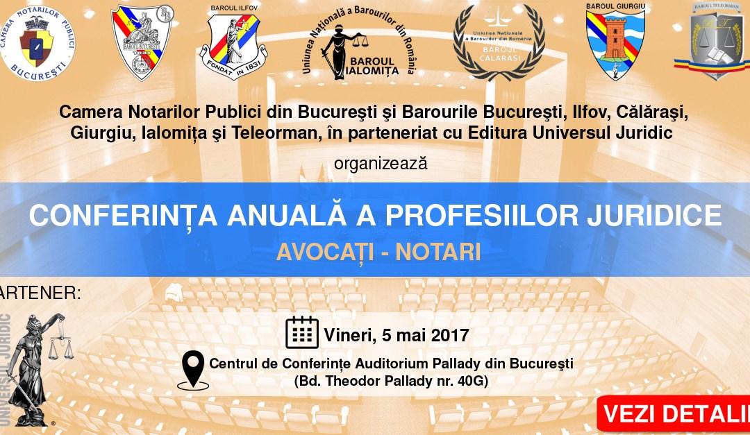 Conferința anuală a profesiilor juridice