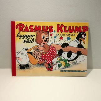 Rasmus Klump bygger skib af Vilh. Hansen
