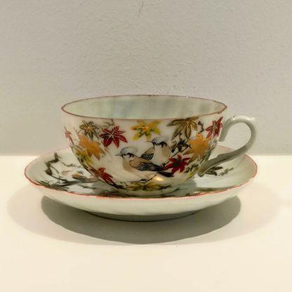 Tekop i japansk porcelæn
