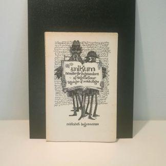 Unikum : noveller for bogsamlere af Tage la Cour