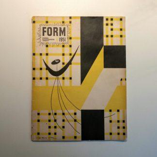Form 1951 nummer 1