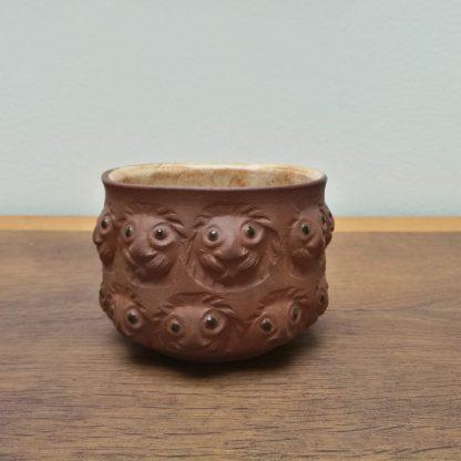 Dybdahl keramik skål med løvehoveder