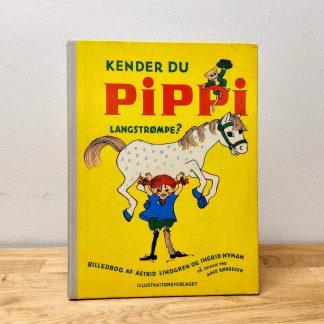 Kender du Pippi Langstrømpe af Astrid Lindgren