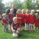 Fodbold hold 2014 med coach Agge