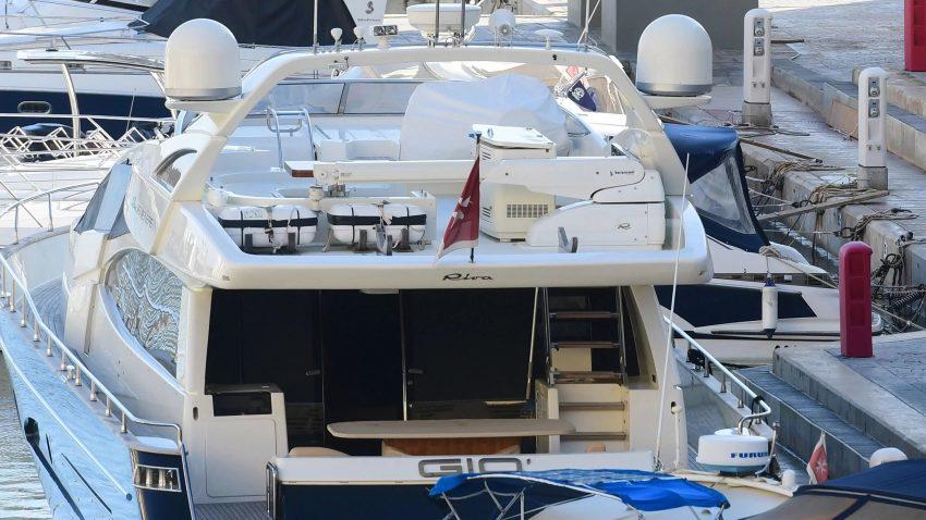 Daphne Murder Yacth probeert te ontsnappen uit Malta