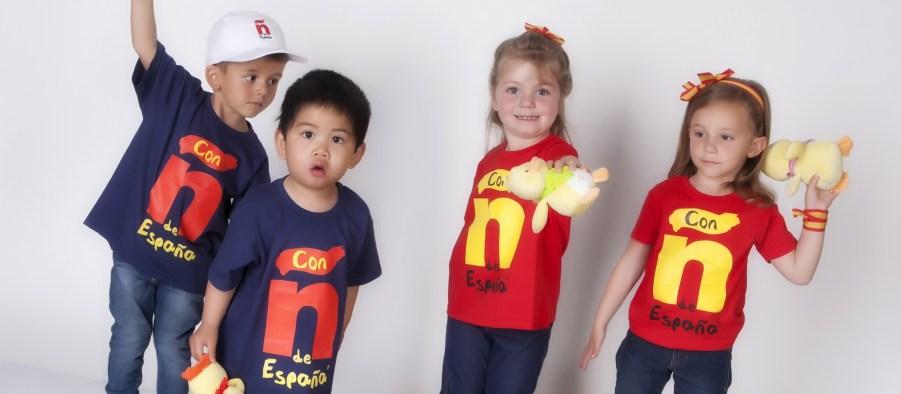Camisetas españa con-ñ-de-españa la roja