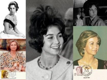 75 años Reina Sofía con ñ de España