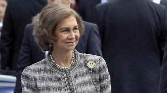 75 aniversario Reina Sofía con ñ de España