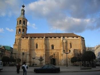 Valdepeñas_-_Iglesia_de_la_Asunción con ñ de españa