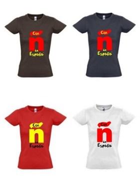 Camisetas solidarias CHICA