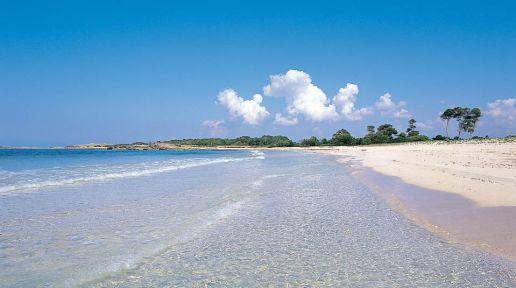 Playa Mallorca Es Trenc Con ñ de españa